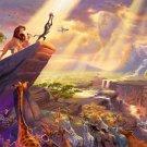 The Lion King Walt Disney Art 16x12 Print Poster