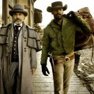 Django Unchained Christoph Waltz Jamie Foxx 16x12 Print Poster