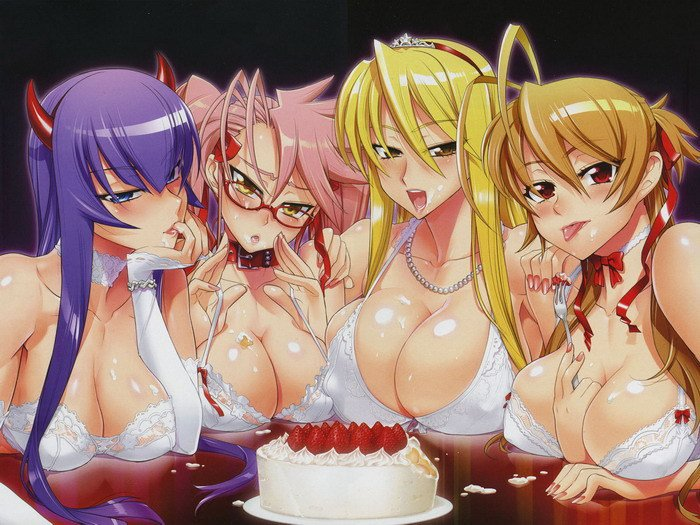 Strawberry Cake Highschool Of The Dead 16x12 Print Poster