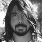 Dave Grohl BW Portrait Rock Music 16x12 Print Poster