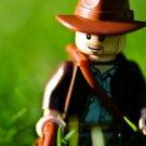 Lego Indiana Jones Macro 16x12 Print Poster