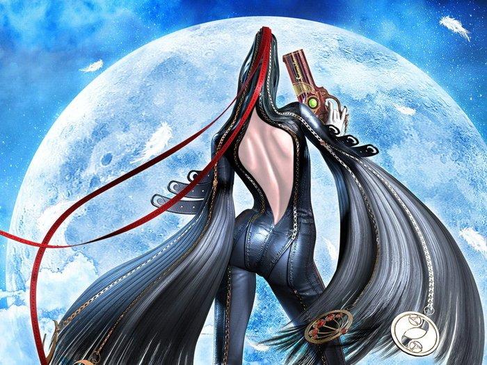 Bayonetta Hot Butt Game Art 16x12 Print Poster