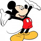 Mickey Mouse Disney Cartoon Art 16x12 Print Poster