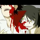 Bakemonogatari Novel Manga Blood Anime Art 16x12 Print Poster