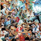 Anime Characters Collage Crossover Art 16x12 Print Poster