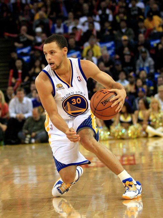 Stephen Curry Golden State Warriors NBA 16x12 Print Poster