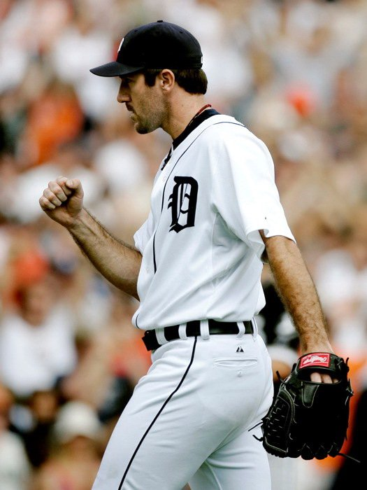 Justin Verlander Detroit Tigers MLB 16x12 Print Poster