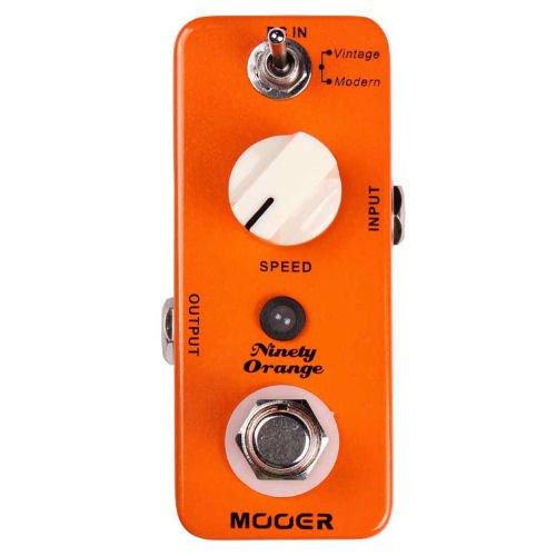 Mooer Ninety Orange Analog Phaser Pedal - NEW IN BOX  FREE SHIPPING TRUE BYPASS