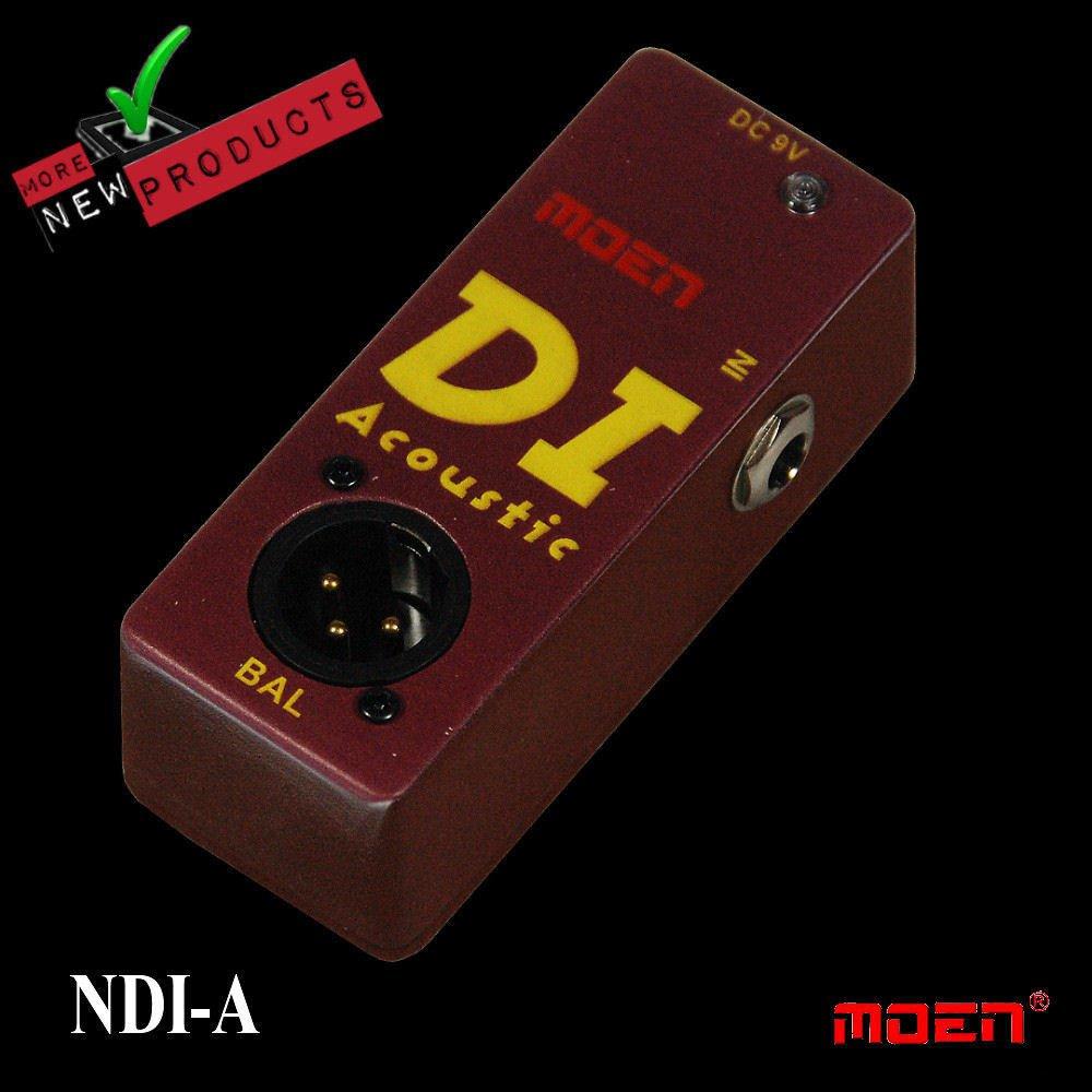 Moen Nano Acoustic Guitar DI Speaker Simulator NDI-A NEW JUST RELEASED!