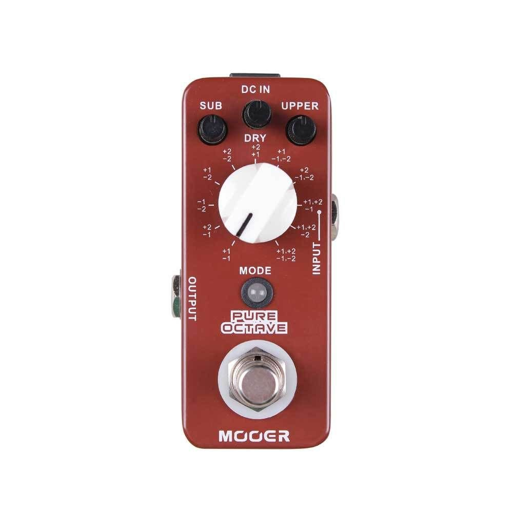 Mooer Audio Pure Octave Guitar Effect Micro Pedal - Brand NEW