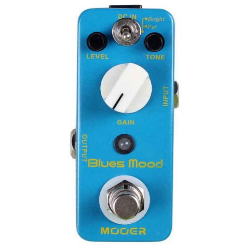 New Mooer Blues Mood Classic Blues Overdrive Micro Guitar Effects Pedal!