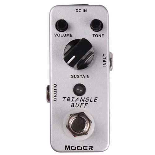 New Mooer Triangle Buff Fuzz Pedal Micro Guitar Effects Pedal!