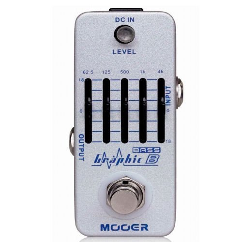 Mooer Audio Graphic B 5-Band EQ Equalizer Bass Guitar Effect Pedal - Brand NEW