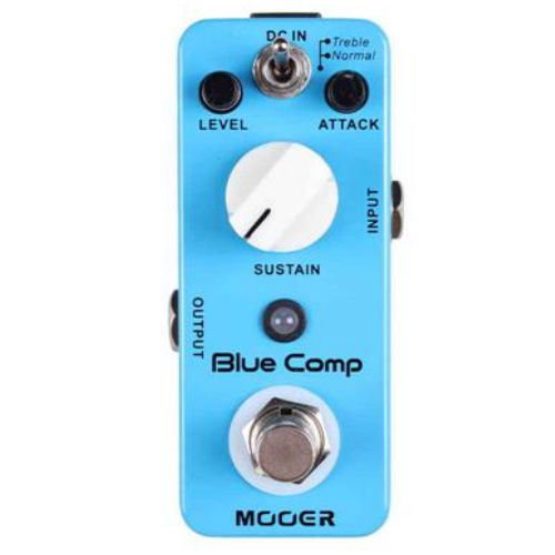 Mooer Blue Comp Compressor Guitar Pedal Cool Small Effect Pedal! RARE LAST 20!