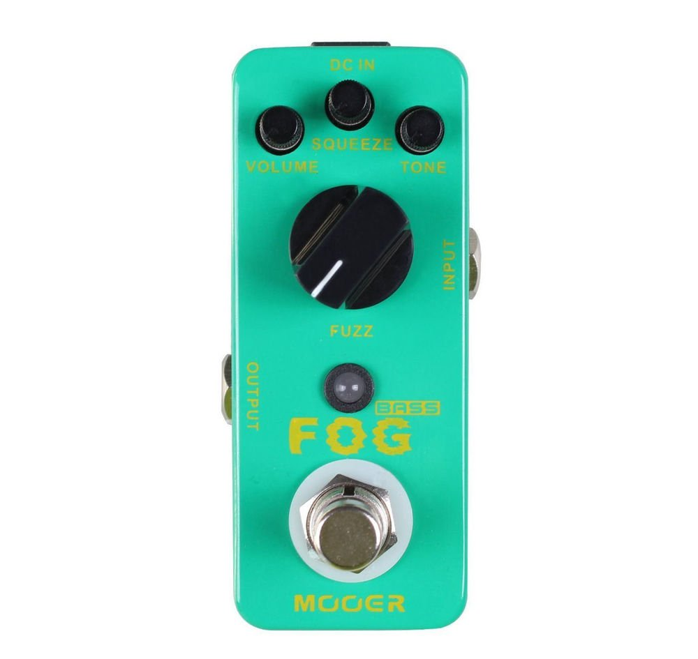 Mooer Audio Fog Bass Fuzz *BRAND NEW* Auth Dealer! Fast Ship