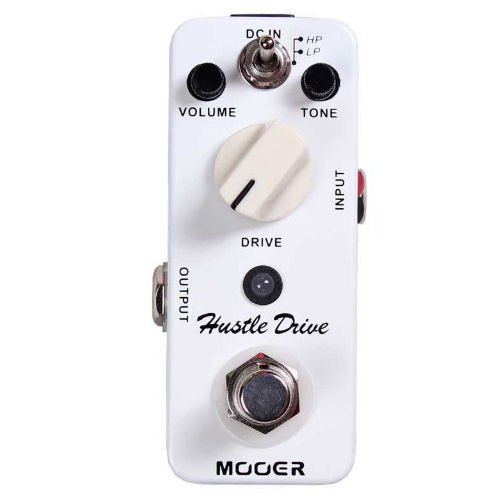 Mooer Hustle Drive Tube Drive Distortion Nano-Sized Guitar Effects Pedal