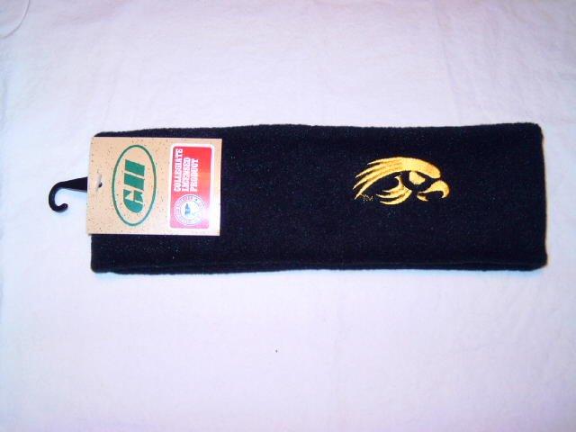 NCAA Iowa Hawkeyes Black Arctic Fleece Headband