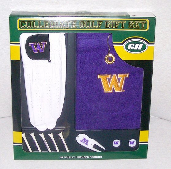 NCAA Washington Huskies 10 PC Collegiate Golf Set XL