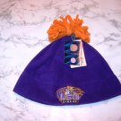 Louisiana State LSU Tigers Fleece Tassel Skull Cap