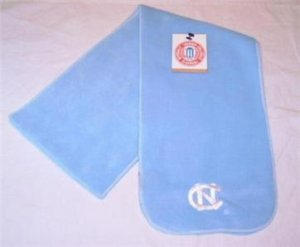 Officially Licensed NCAA North Carolina Tar Heels Arctic Fleece Scarf NWT