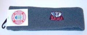 Officially Licensed NCAA Alabama Crimson Tide BAMA Brushed Fleece Headband NWT