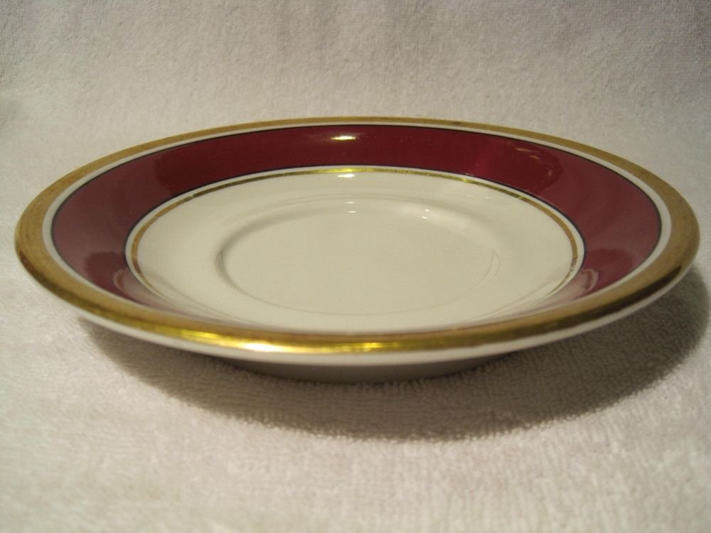 """Vintage Mayer China The Harley New York Hotel 6-3/4"""" inch Saucer"""