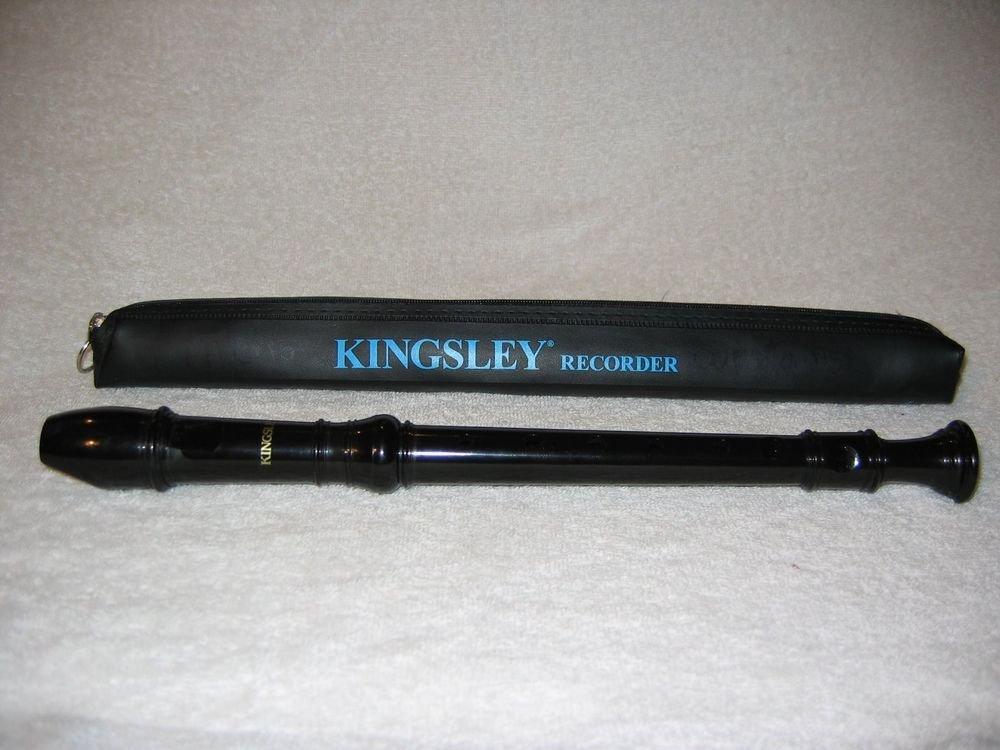Kingsley 101 Soprano Recorder & Case Made in Korea