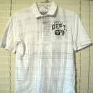 Mossimo Boys Polo Style Shirt Size M (8-10) Medium Gray White Athletic Dept.