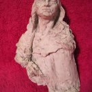"Native American Indian Chief Warrior Sculpture Sitting Bull 8"" inches"