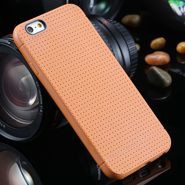 New Arrival Portable Silicone Case For Iphone 6 4.7Inch Soft Back  2031448558-9-light brown
