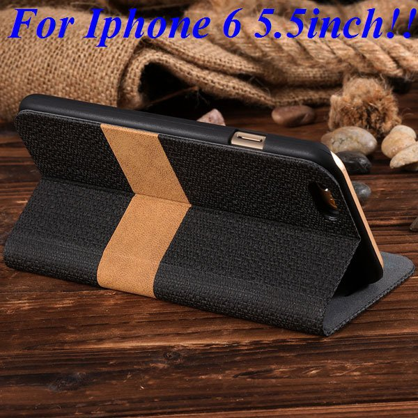 I6/6 Plus Luxury Original Brand Pu Leather Case For Iphone 6 4.7In 32276577085-5-black for plus