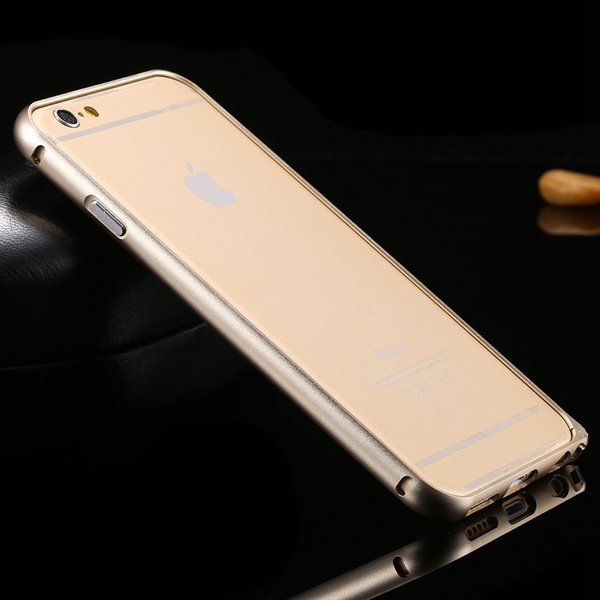I6 Metal Frame Aluminum Case For Iphone 6 4.7Inch Slim Protective  32213754716-10-gold