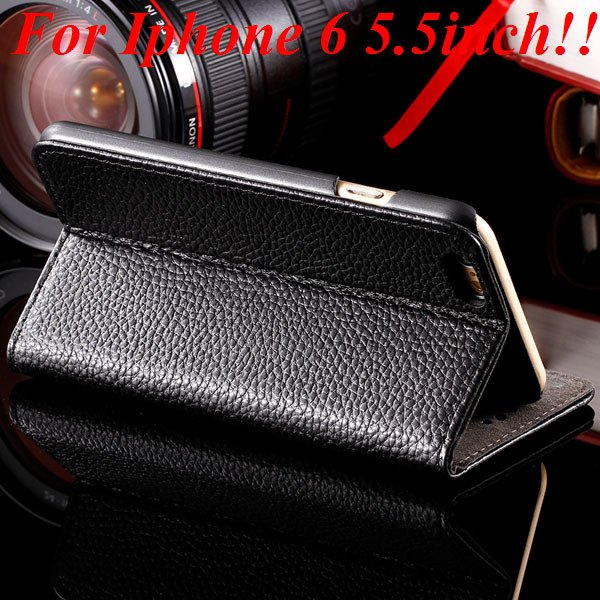 I6/6Plus Genuine Leather Case For Iphone 6 4.7Inch Full Protect Co 32236491521-1-black for plus