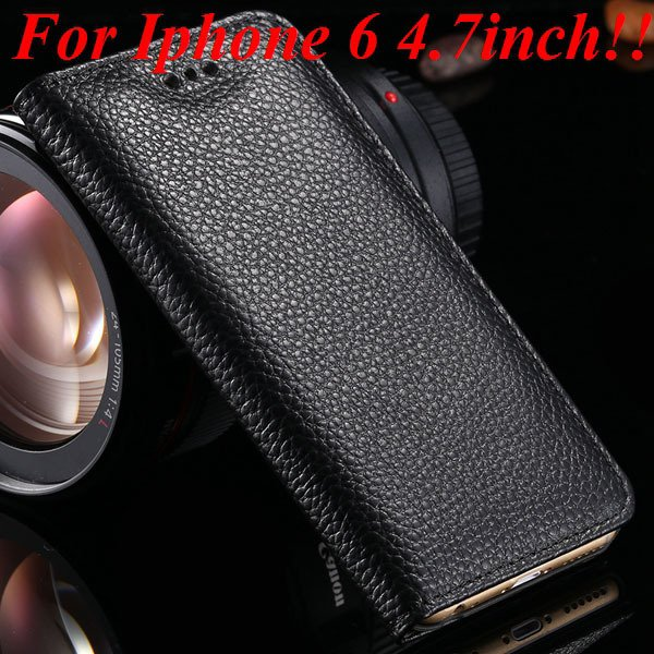 I6/6Plus Genuine Leather Case For Iphone 6 4.7Inch Full Protect Co 32236491521-8-black for iphone 6
