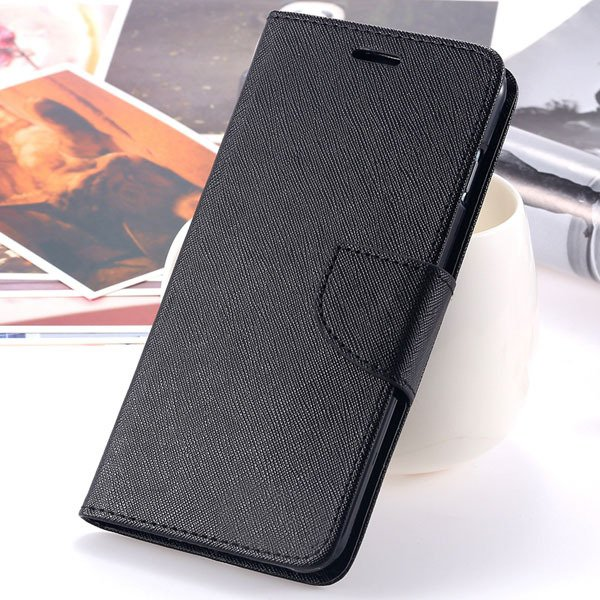 New Pu Leather Full Cover For Iphone 6 4.7 Inch Flip Phone Housing 2052907542-6-all black