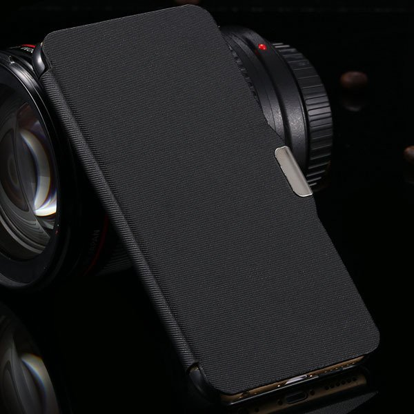 For Iphone 6 Plus Flip Wallet Phone Cover For Iphone 6 Plus 5.5''  2048384459-1-black
