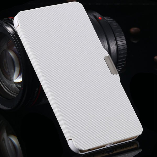For Iphone 6 Plus Flip Wallet Phone Cover For Iphone 6 Plus 5.5''  2048384459-2-white