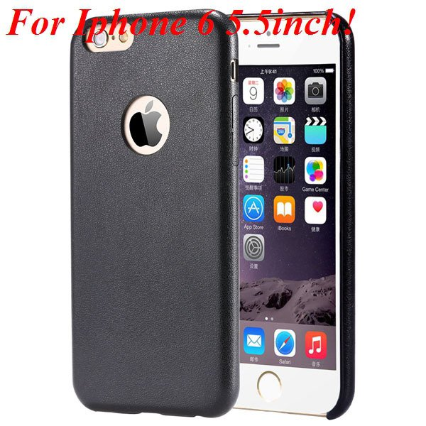 I6 Slim Case Original Ultra Thin Pu Leather Cover For Iphone 6 4.7 32261009616-11-black for plus