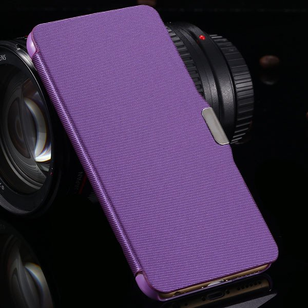For Iphone 6 Full Protect Pu Leather Wallet Case For Iphone 6 4.7' 2038708999-9-purple