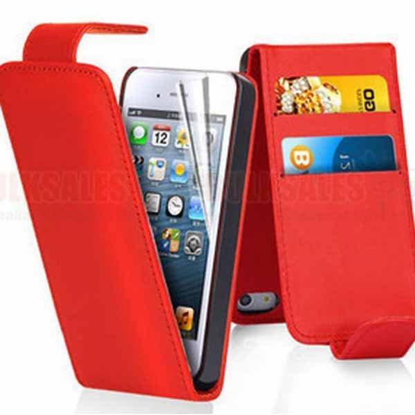 I6 Flip Case Premium Pu Leather Cover For Iphone 6 4.7Inch Full Pr 32250801169-3-red