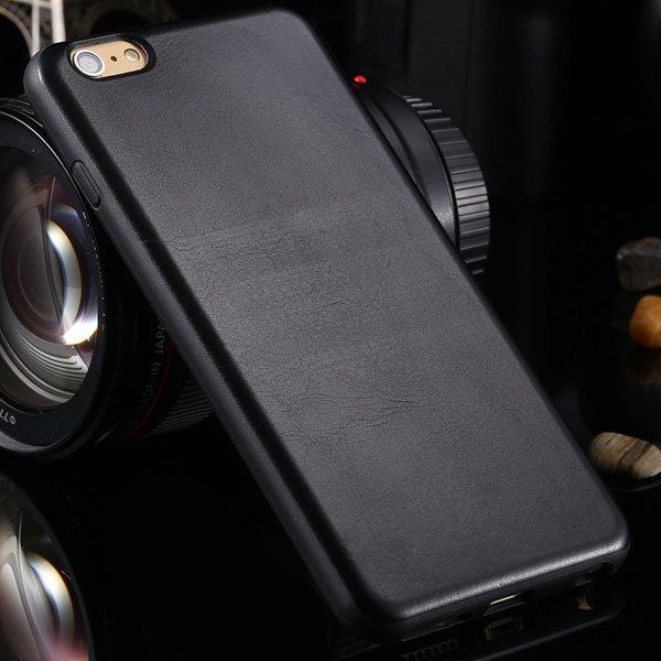 For Iphone 6 Plus Flexible Back Case For Iphone 6 Plus 5.5'' Pu Le 2046842717-1-black