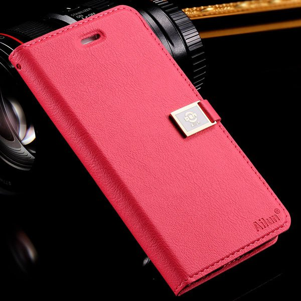 I6 Flip Case Original Ailun Full Wallet Cover For Iphone 6 4.7Inch 32229211578-6-hot pink