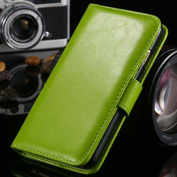 I6 Flip Case Stand Pu Leather Cover For Iphone 6 4.7Inch Wallet Ba 1990100255-5-green