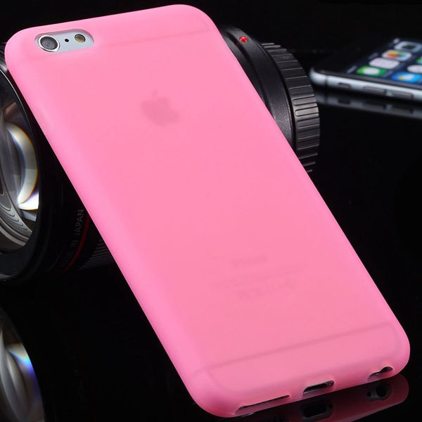 Super Soft Silicone Case For Iphone 6 Plus 5.5Inch Back Phone Shel 2053435144-10-pink