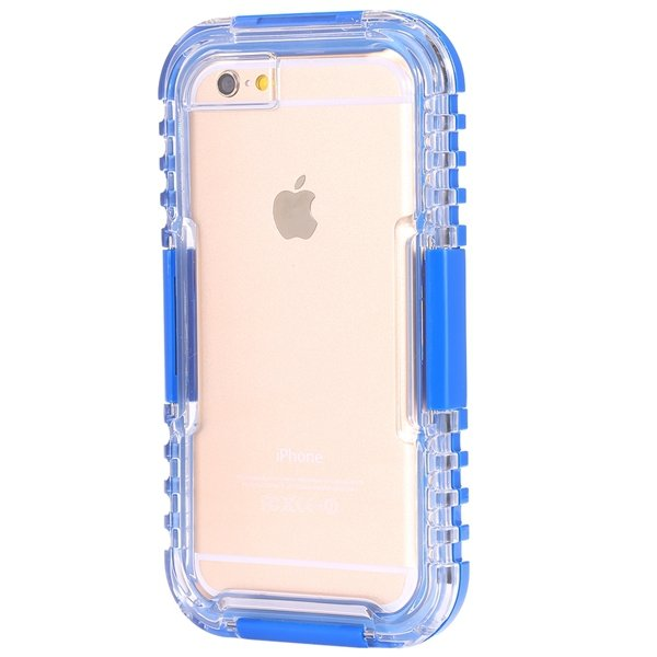 I6 Waterproof Case Surfing Swimming Underwater Clear Cover For Iph 32281108987-2-blue