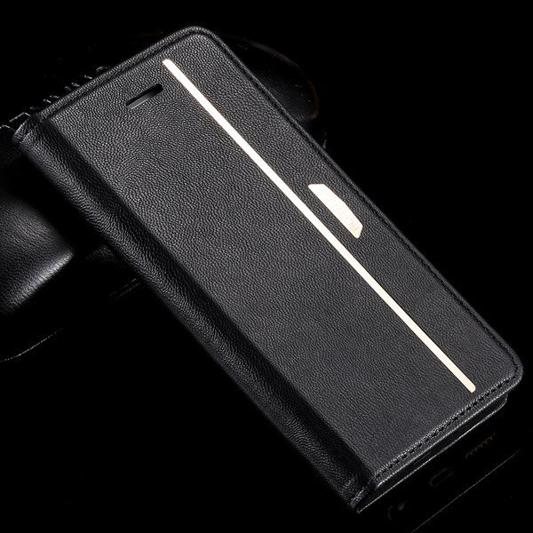 Flip Mobile Phone Cover For Iphone 6 4.7Inch Protective Bag Pomegr 32216439562-1-black