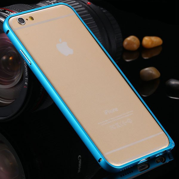 I6 Aluminum Case Luxury Metal Frame Cover For Iphone 6 4.7Inch Sli 2052483094-3-blue