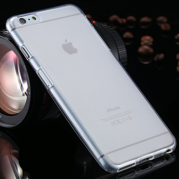 I6 Plus Clear Case Full Flip Cover For Iphone 6 Plus 5.5Inch Soft  2053095298-3-white
