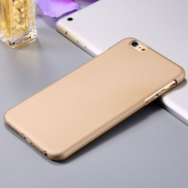I6 Back Case Ultra Slim Mat Lubricating Cover For Iphone 6 4.7Inch 32281395200-2-gold