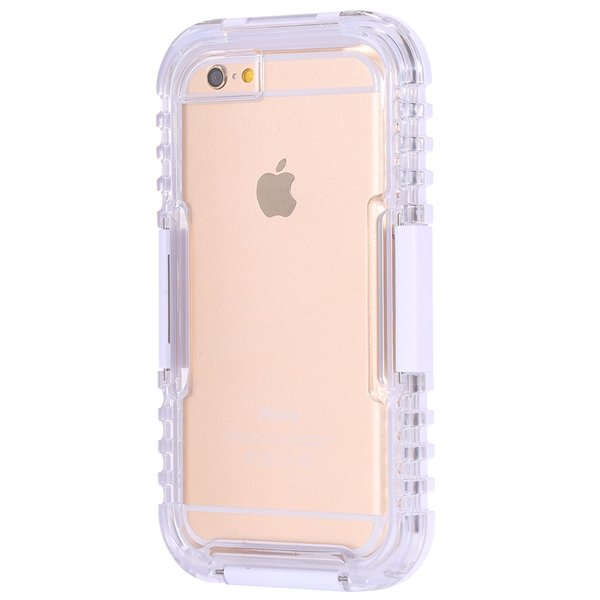 I6 Plus Waterproof Cover Surfing Diving Underwater Full Case For I 32280367422-6-white
